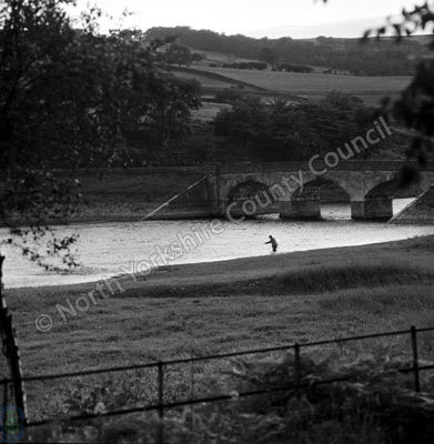 Fishing, Lindley Reservoir